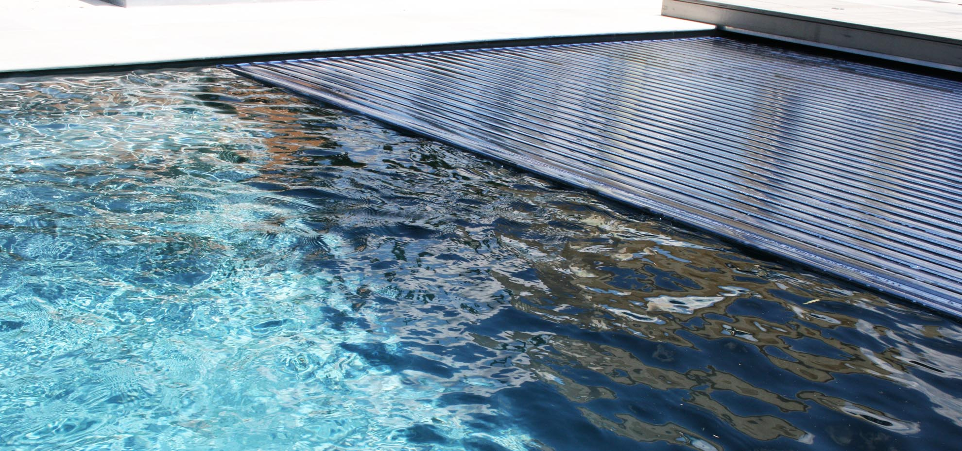 Seabreeze Fibreglass Pools - The Reflection with Autocover
